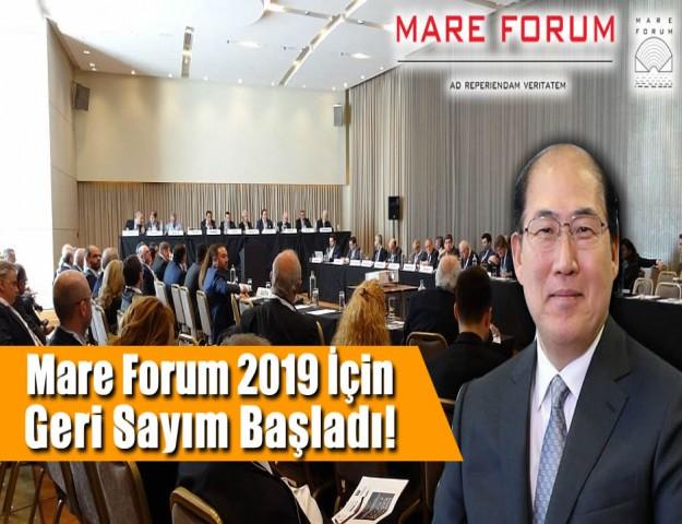 Mare Forum 2019 için Geri Sayım Başladı!