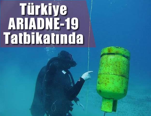 Türkiye ARIADNE-19 Tatbikatında