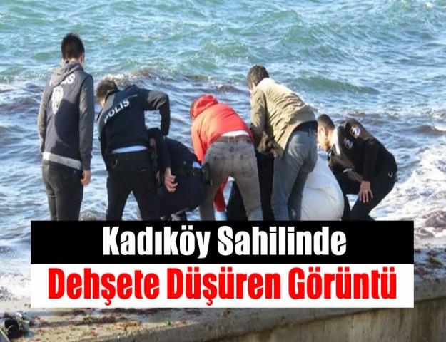 Kadıköy Sahilinde Dehşete Düşüren Görüntü
