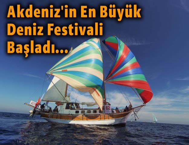 Akdeniz'in En Büyük Deniz Festivali Başladı