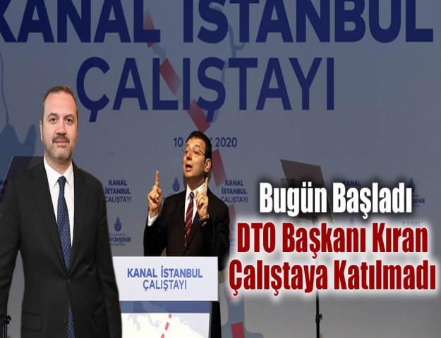 DTO Başkanı Kıran  Katılmadı