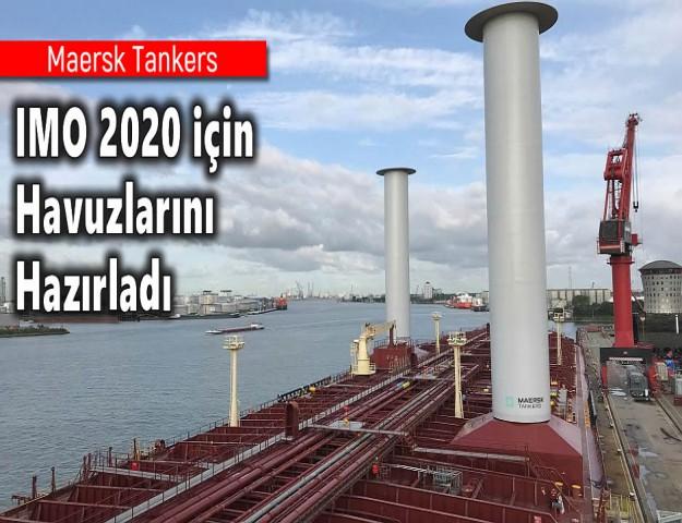 Maersk Tankers IMO 2020 için Havuzlarını Hazırladı