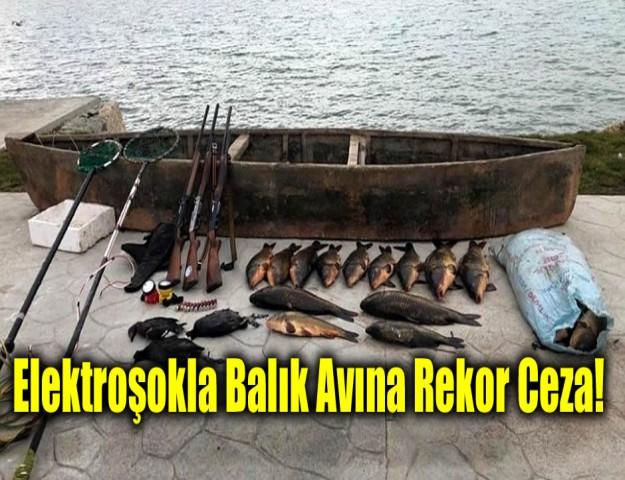 Elektroşokla Balık Avına Rekor Ceza!