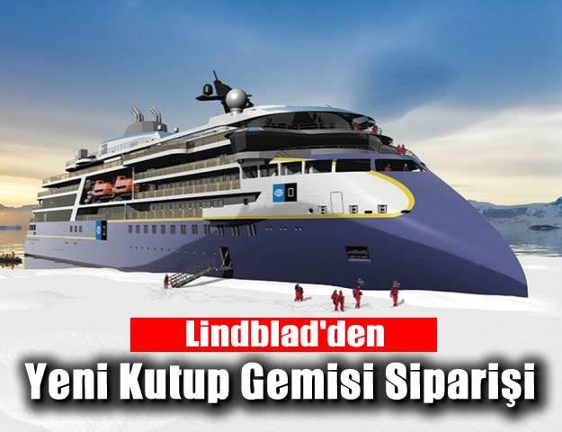 Lindblad'den Yeni Kutup Gemisi Siparişi
