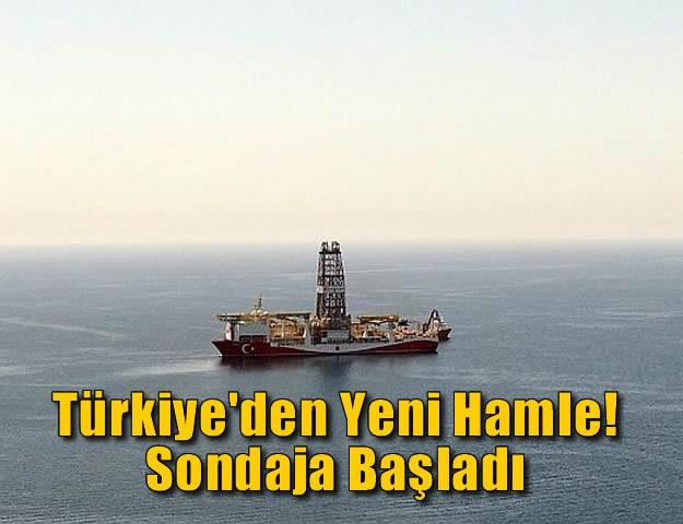 Türkiye'den Yeni Hamle! Sondaja Başladı