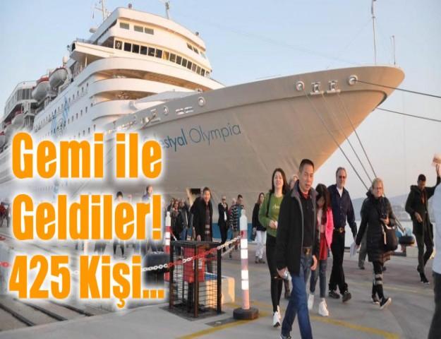 Gemi ile Geldiler! 425 Kişi...