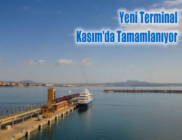 Yeni Terminal Kasım'da Tamamlanıyor