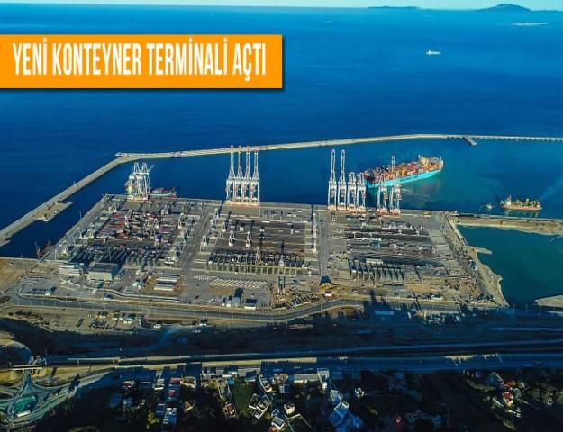 Yeni Konteyner Terminali Açtı