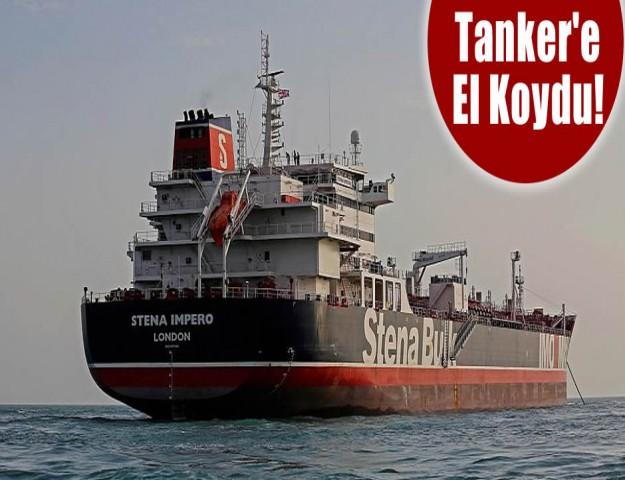 Tanker'e El Koydu!