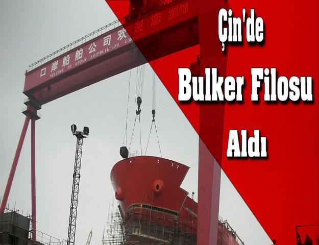 Çin'de Bulker Filosu Aldı