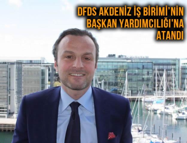 DFDS Akdeniz İş Birimi'nin Başkan Yardımcılığı'na Atandı