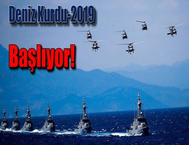 Deniz Kurdu-2019 Başlıyor!