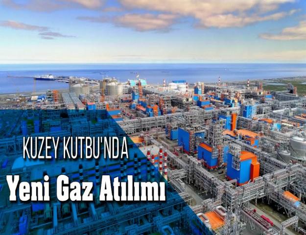 Kuzey Kutbu'nda Yeni Gaz Atılımı