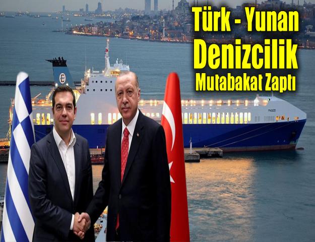 Türk - Yunan Denizcilik Mutabakat Zaptı