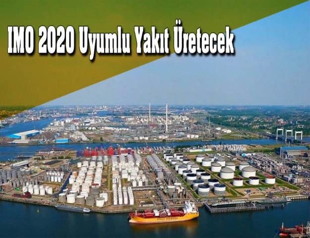 IMO 2020 Uyumlu Yakıt Üretecek