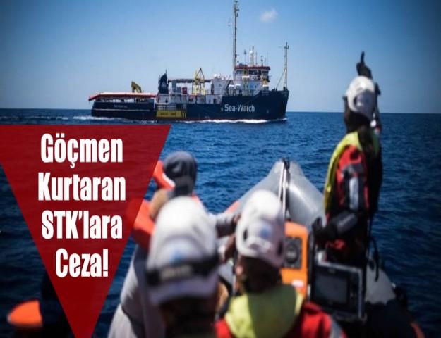 Göçmen Kurtaran STK'lara Ceza!