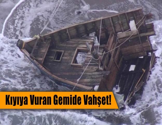 Kıyıya Vuran Gemide Vahşet!