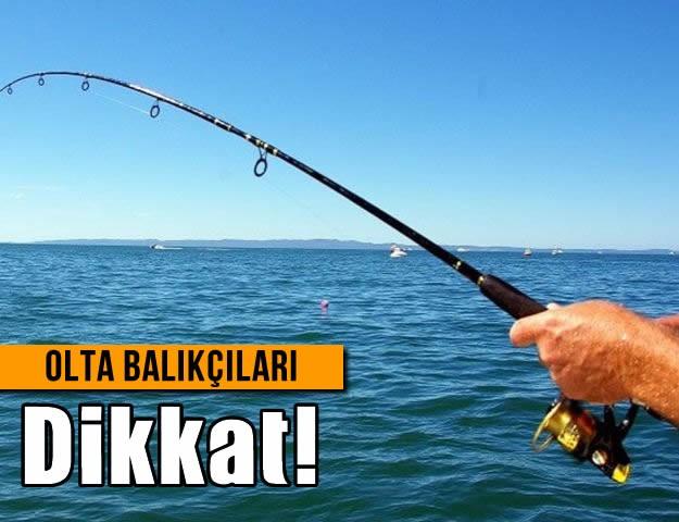 Olta Balıkçıları Dikkat!