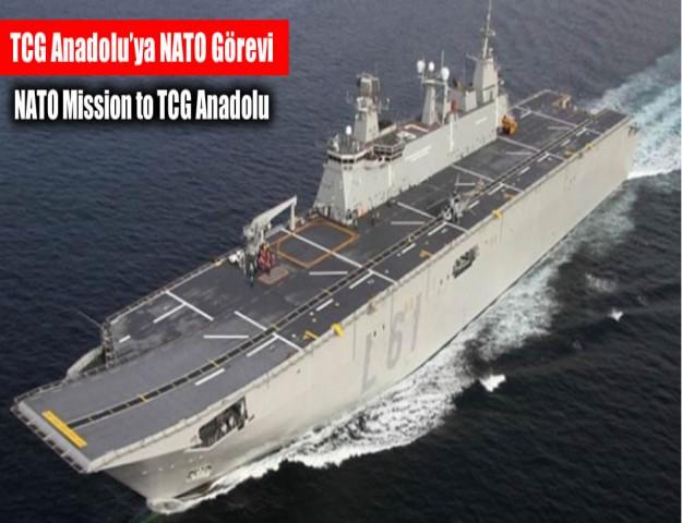 TCG Anadolu'ya NATO Görevi