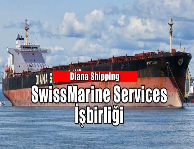 Diana Shipping ve SwissMarine Services İşbirliği