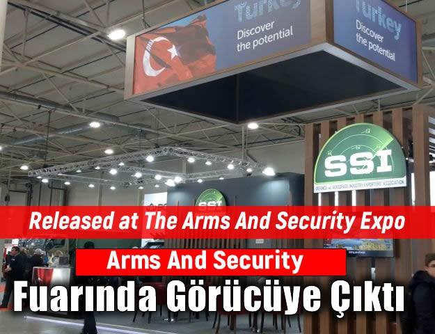 Arms And Security Fuarında Görücüye Çıktı