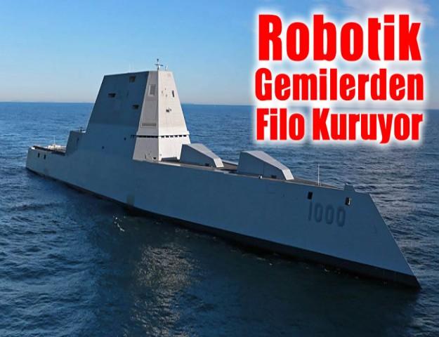 Robotik Gemilerden Filo Kuruyor