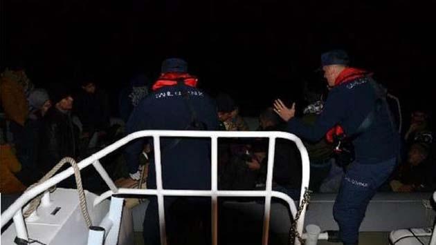 Kuşadası'nda Kaçak Göçmenler Yakalandı