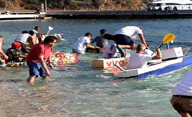 9. Göcek Maket Tekne Yarışı Düzenlendi