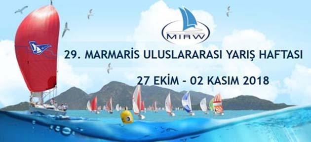 'Marmaris Uluslararası Yarış Haftası' Başlıyor