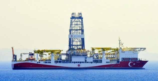 Türkiye'nin İlk Sondaj Gemisi Antalya'da