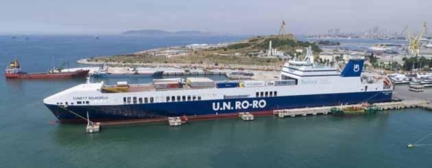 UN Ro-Ro'nun Devir İşlemi Tamamlandı