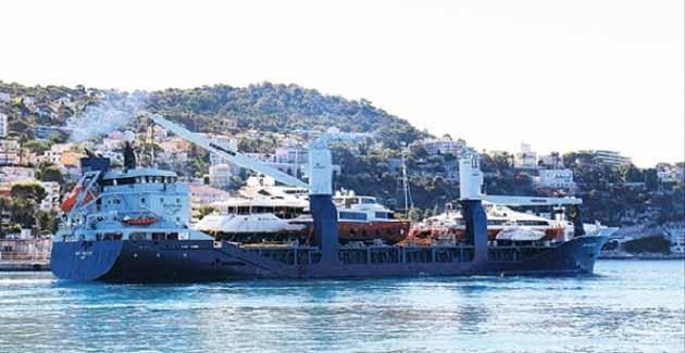 Mega Yacht Transport'a Yaz Döneminde Talepler Arttı
