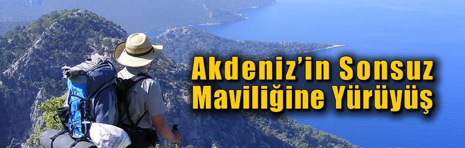 Akdeniz'in Sonsuz Maviliğine Yürüyüş