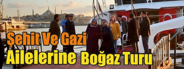 İBB'den Şehit Ve Gazi Ailelerine Boğaz Turu
